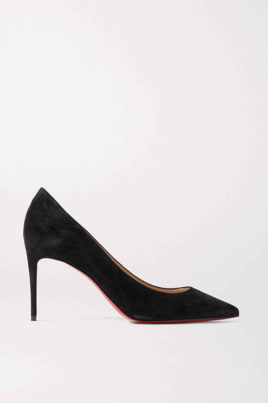 Christian Louboutin Kate 85 Pumps aus Veloursleder