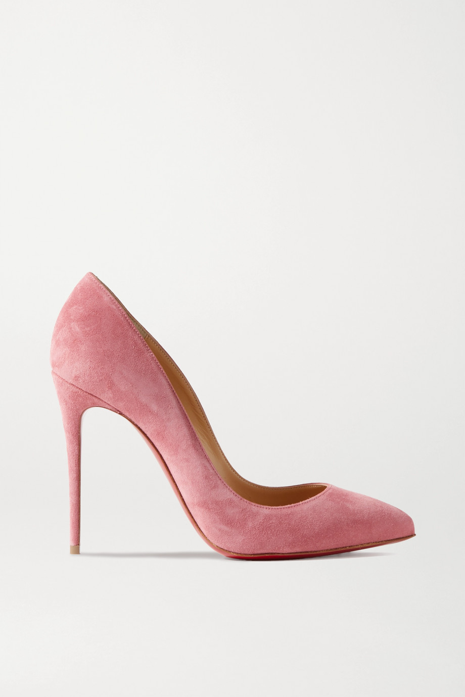 Christian Louboutin Pigalle Follies 100 Pumps aus Veloursleder