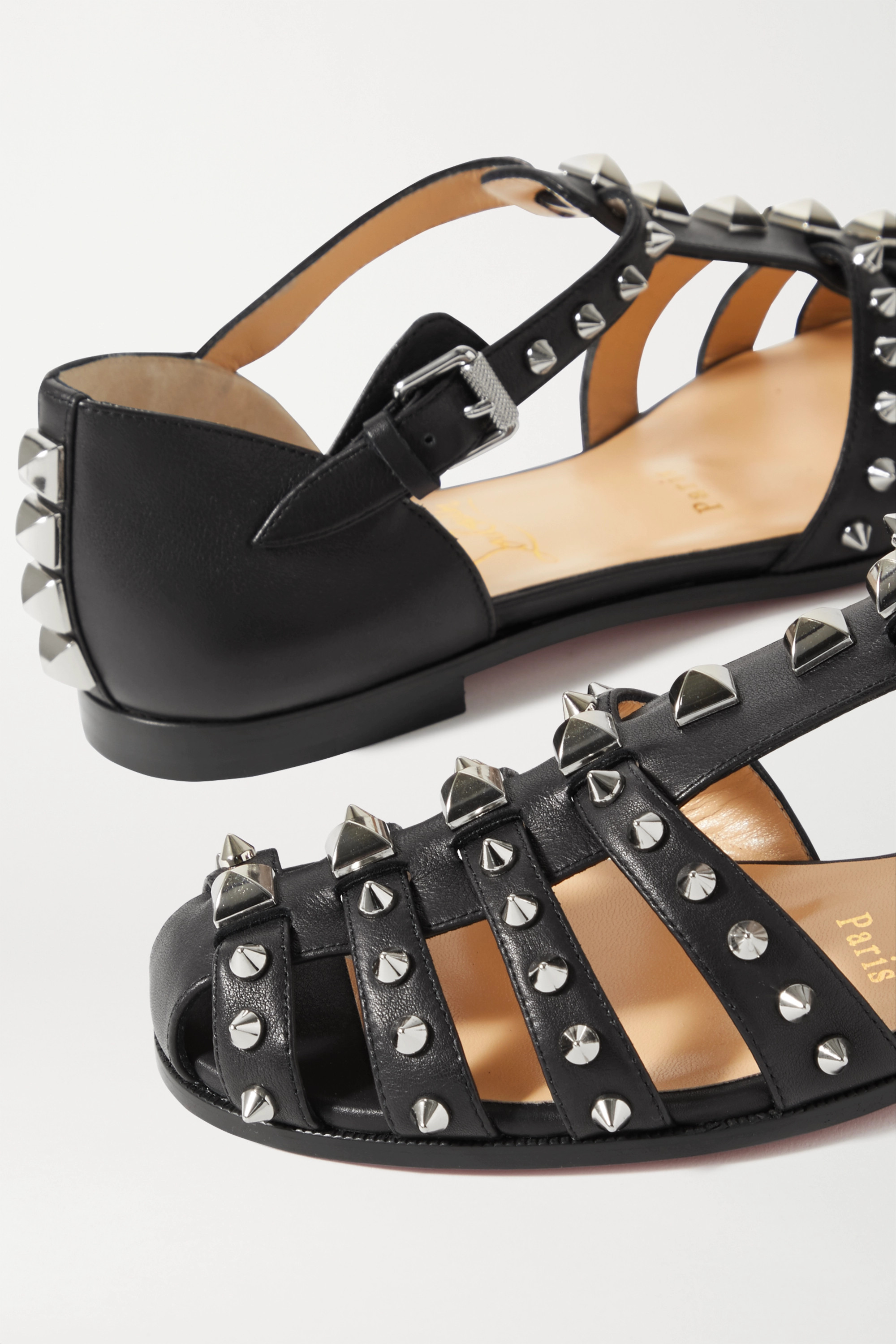 Christian Louboutin LoubiClou studded leather sandals