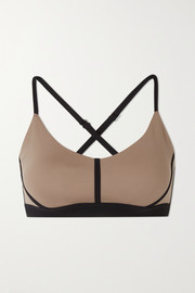 Ernest Leoty Corset paneled stretch sports bra