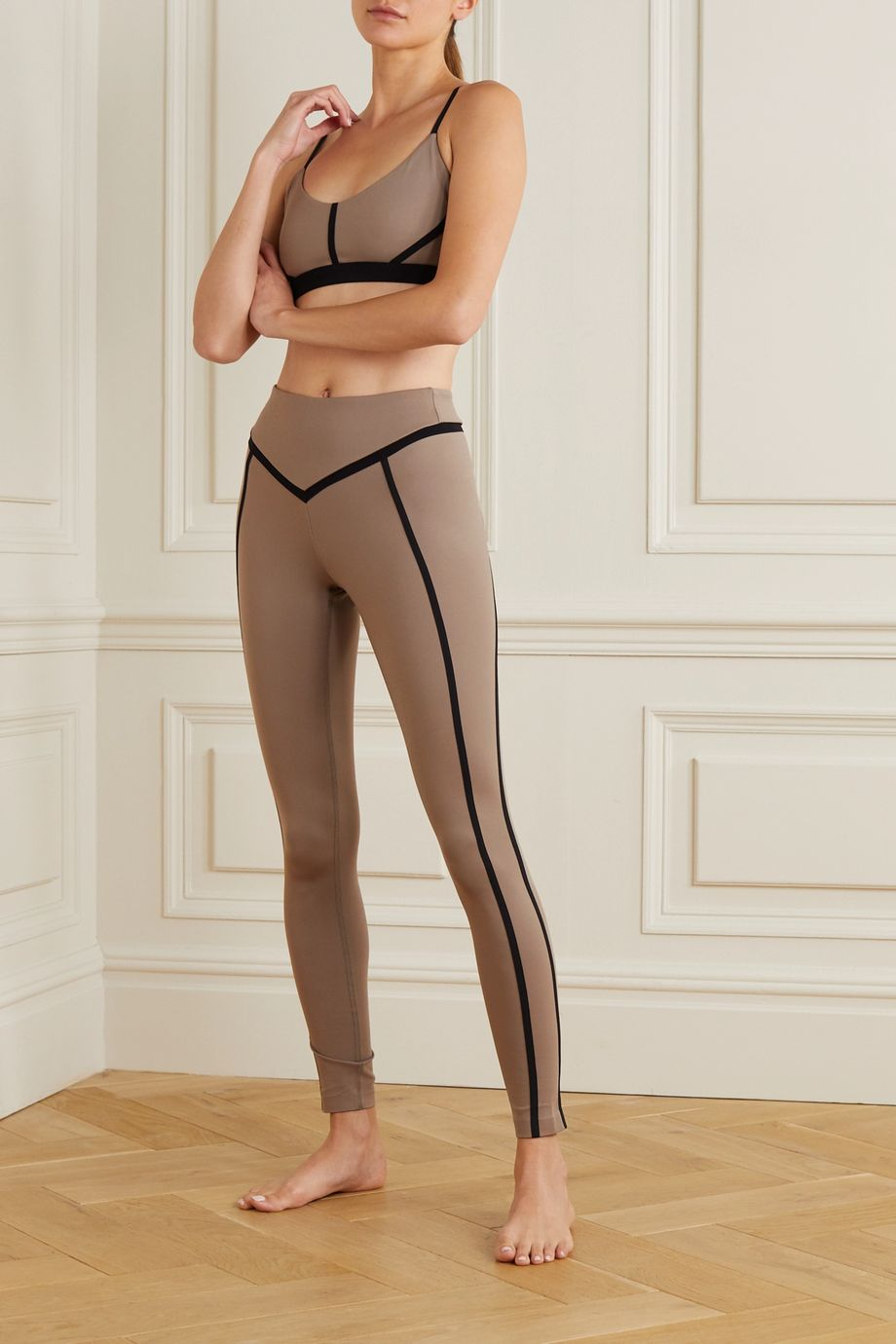 Ernest Leoty Corset Stretch-Leggings