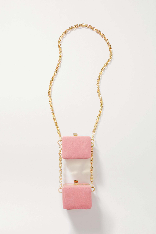 16ARLINGTON - Ralphie Double mini leather shoulder bag