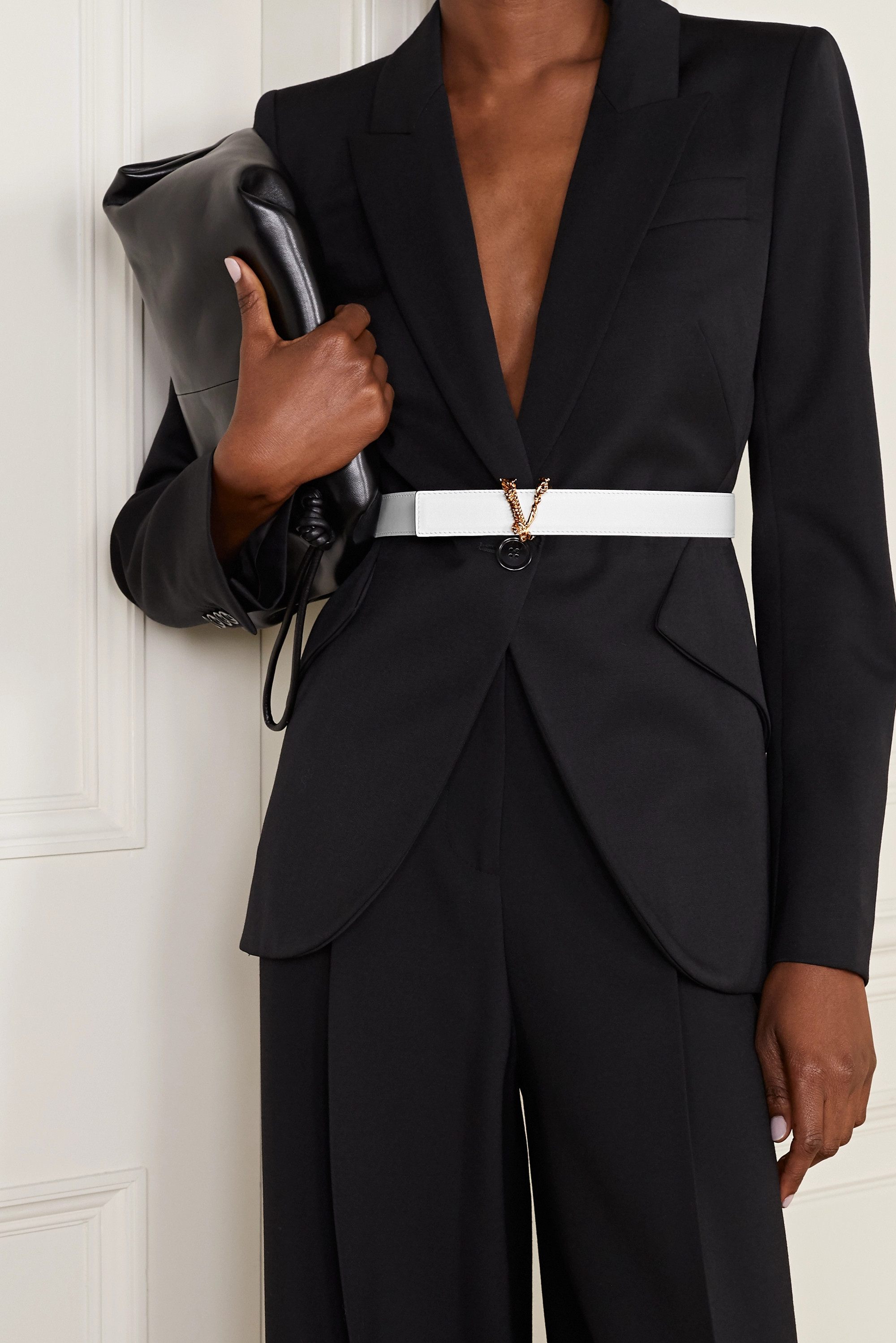 Versace 皮革腰带