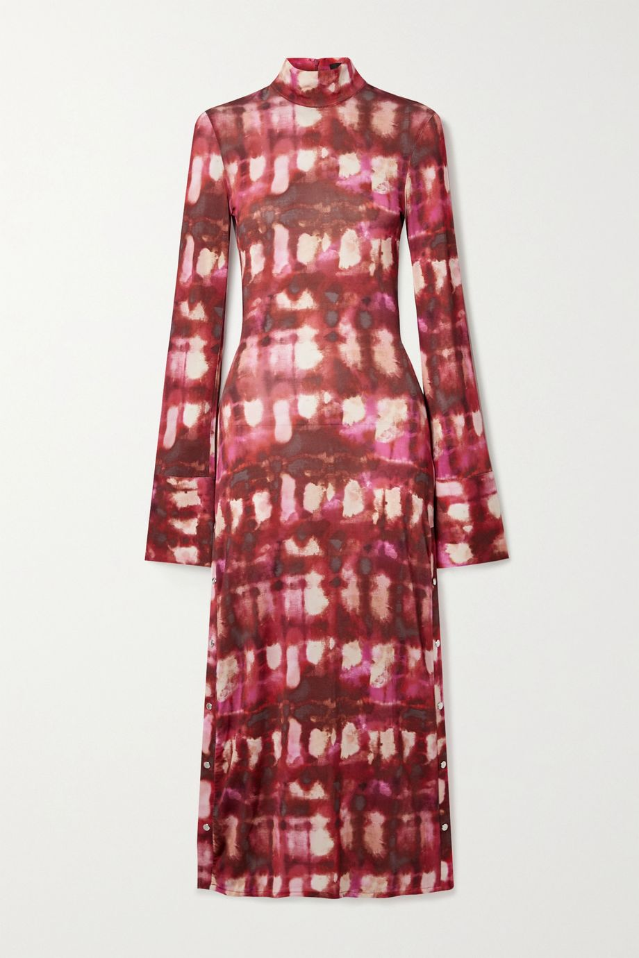 Ellery Seychelles printed stretch-jersey midi dress