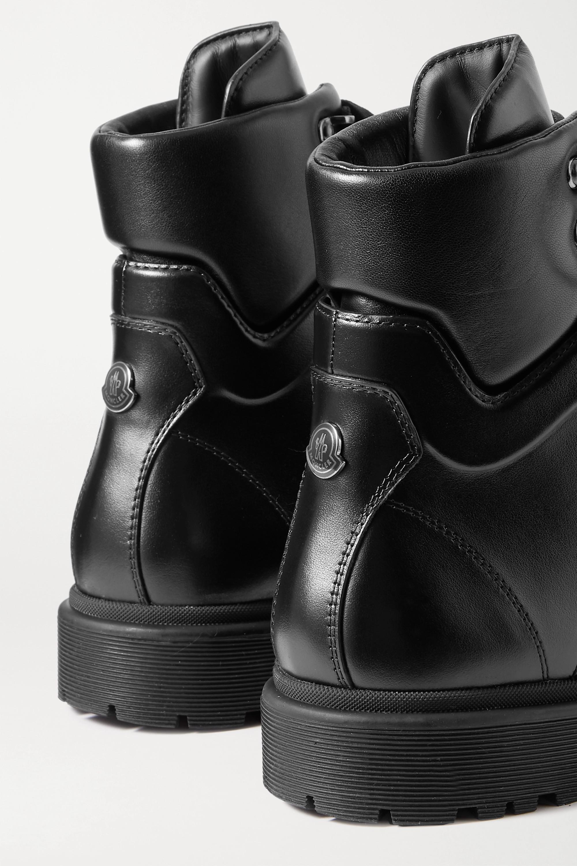 Moncler Patty 皮革踝靴