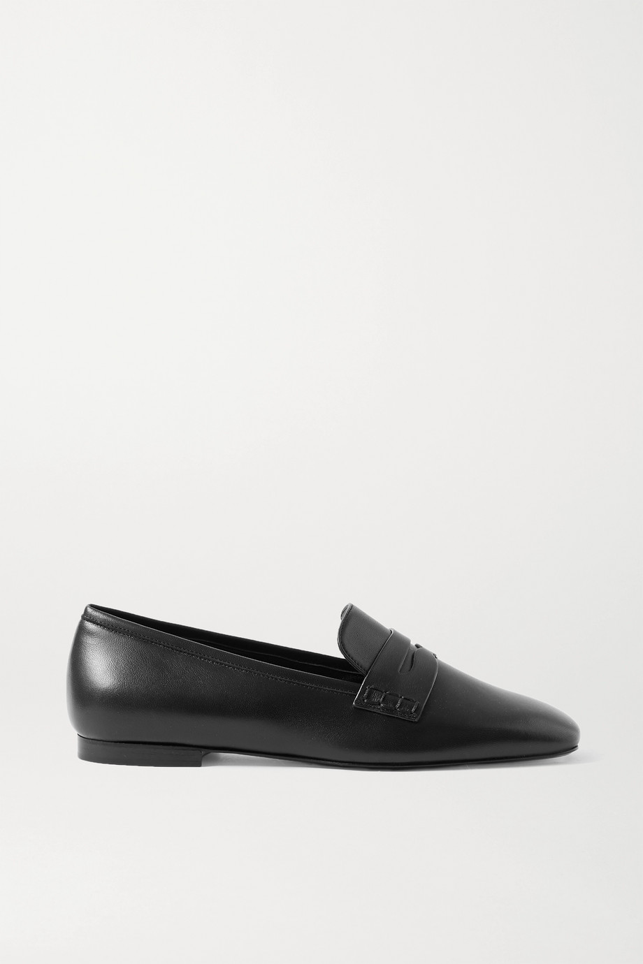 Khaite Leather loafers