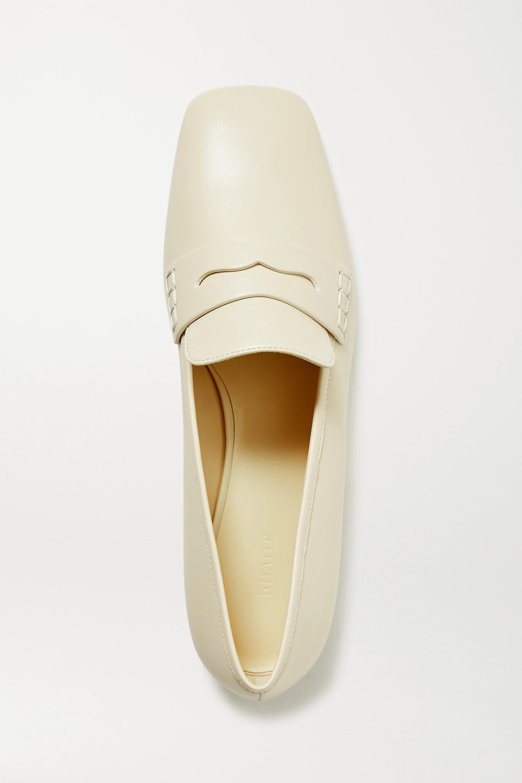 Khaite Leather loafers