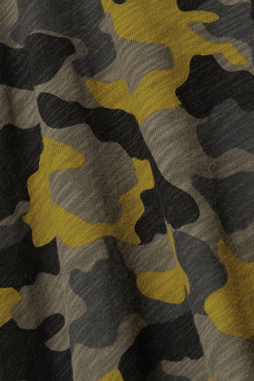 Army Green Schoolboy Camouflage-print Slub Cotton-jersey T-shirt | Atm Anthony Thomas Melillo
