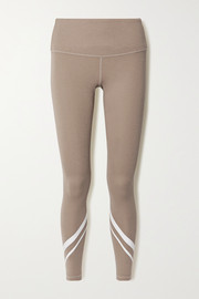 Tory Sport Printed stretch-jersey leggings