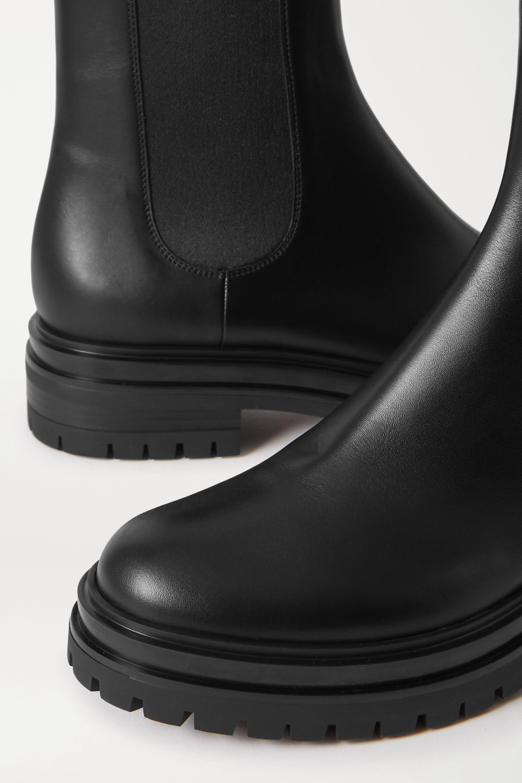 Gianvito Rossi 皮革切尔西靴