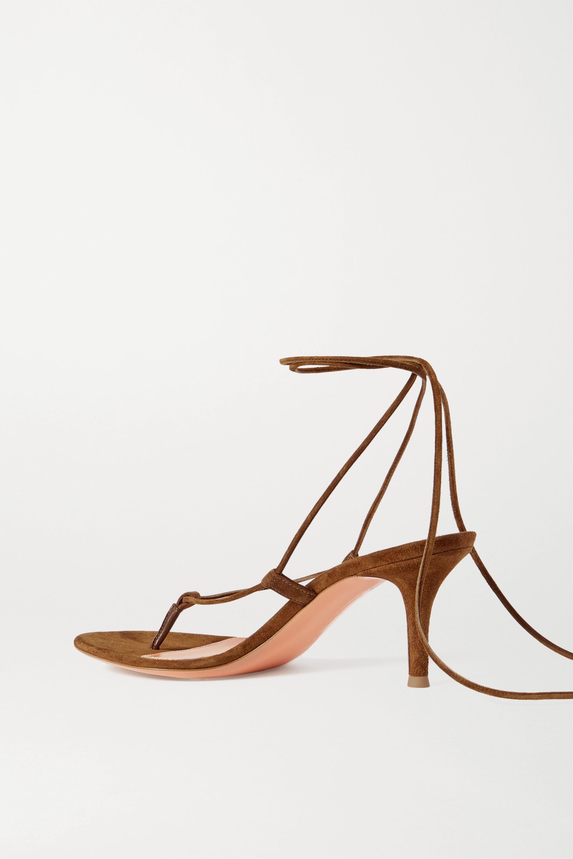 Gianvito Rossi 70 suede sandals