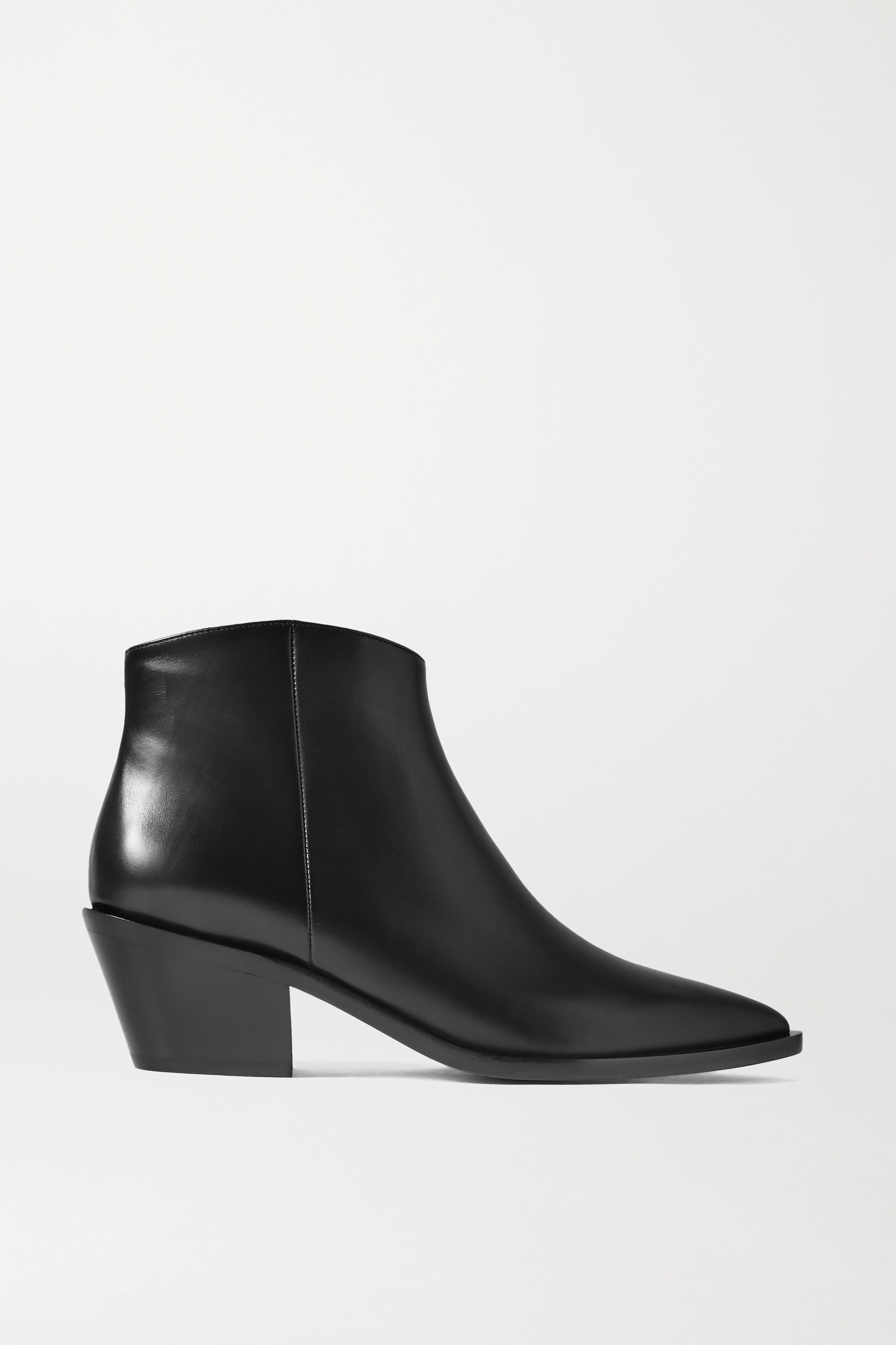 Gianvito Rossi 45 leather ankle boots