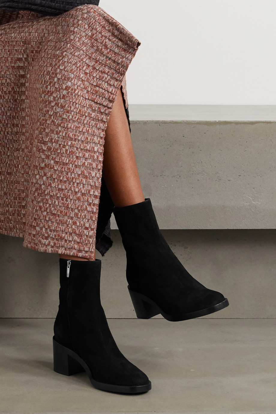Gianvito Rossi Bottines en daim 60