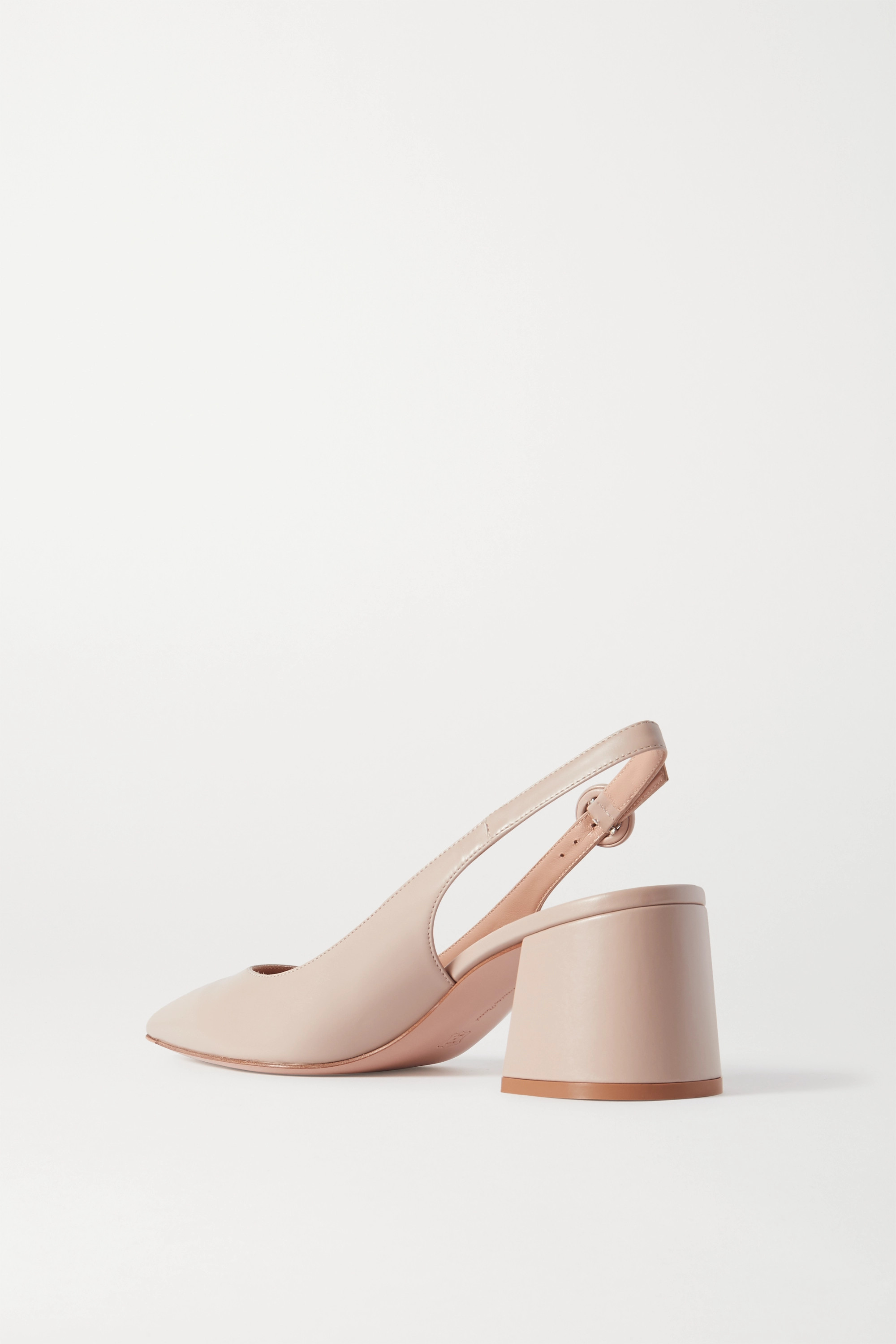 Gianvito Rossi Agata 60 leather slingback pumps