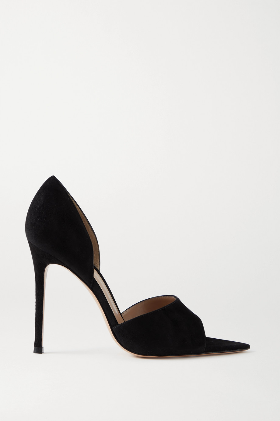 Gianvito Rossi 105 Pumps aus Veloursleder