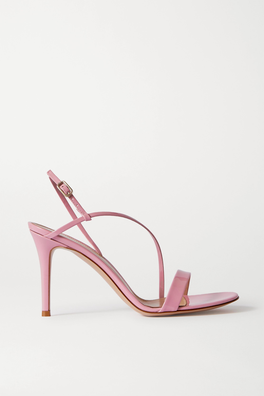 Pink Manhattan 85 patent-leather
