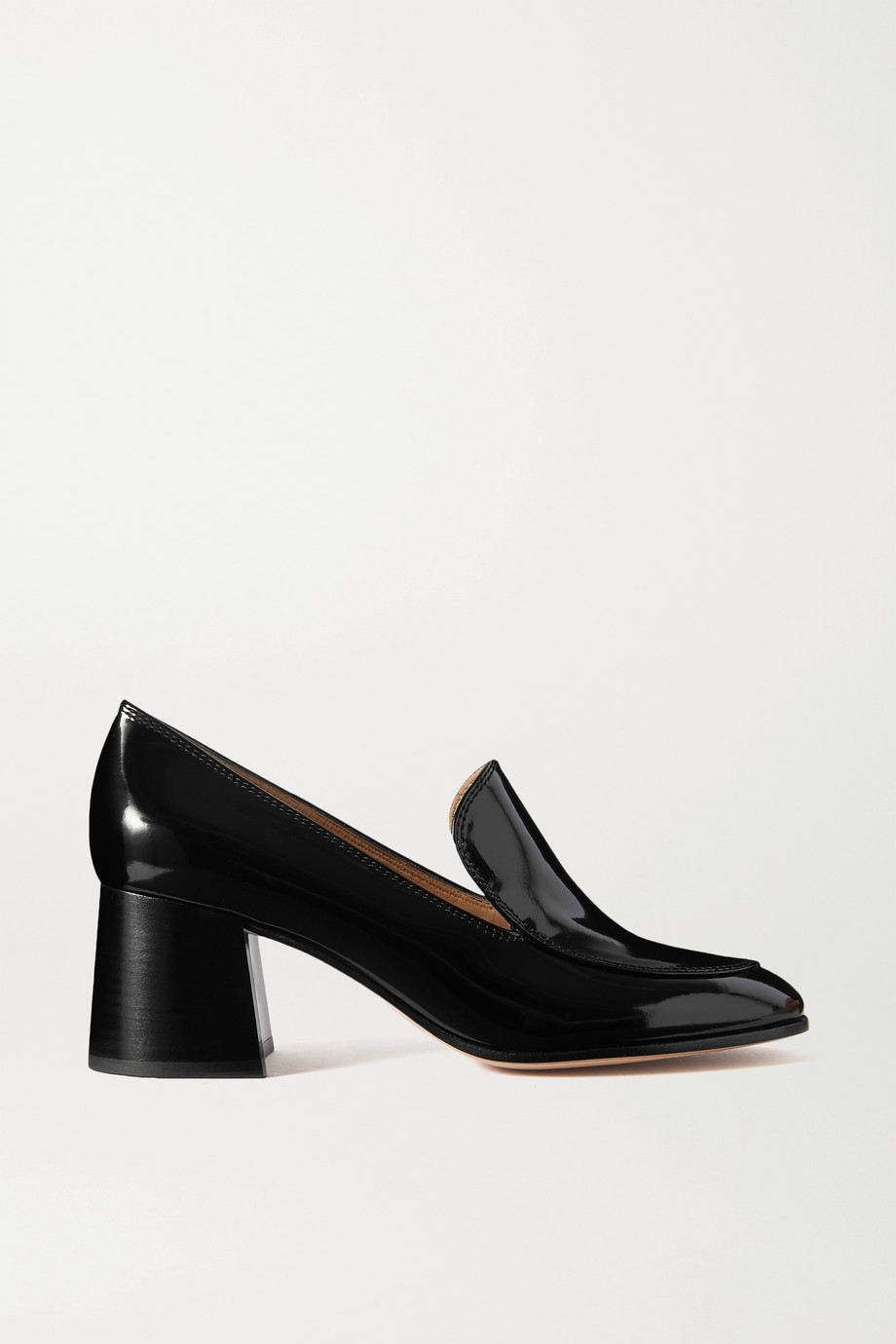 Gianvito Rossi Marcel 60 patent-leather pumps