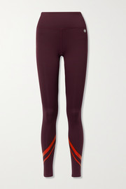 Tory Sport Weightless printed stretch leggings