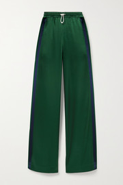 Tory Sport Striped satin track pants