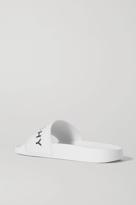 Givenchy Logo-print rubber slides