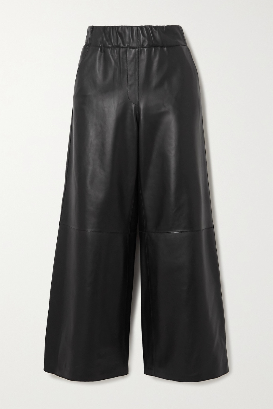 Loewe Leather wide-leg pants