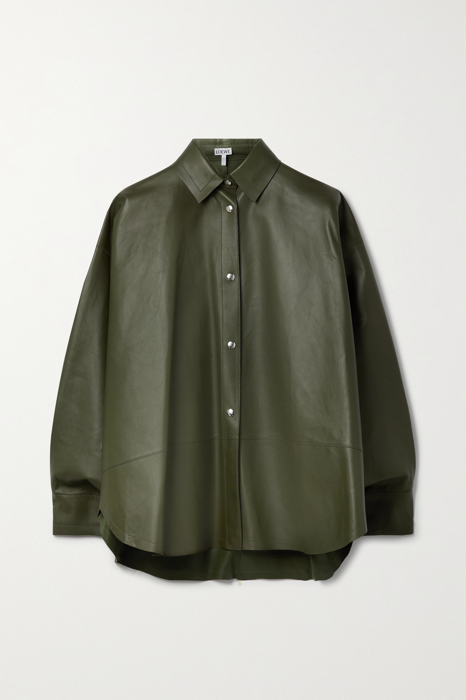 Loewe Oversized leather shirt
