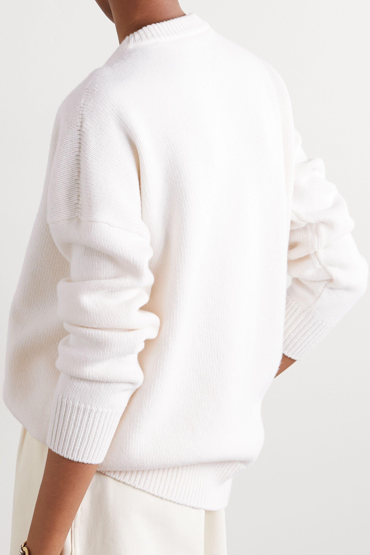Loewe Pull en laine à broderies et à cristaux