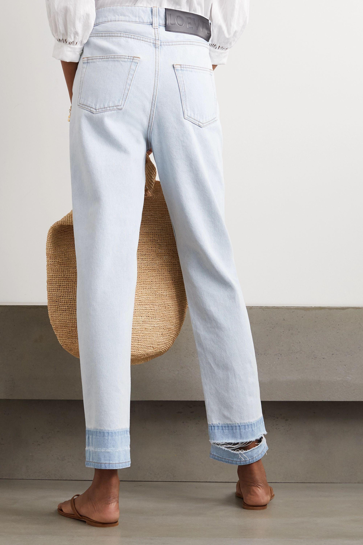 Loewe Jean droit taille haute effilé