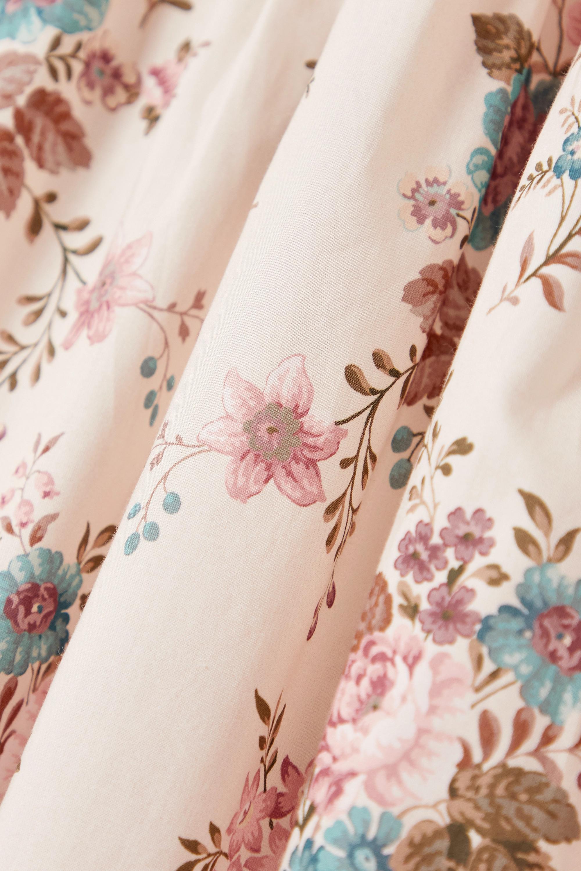 Anna Mason Jupe midi en coton à imprimé fleuri Tati