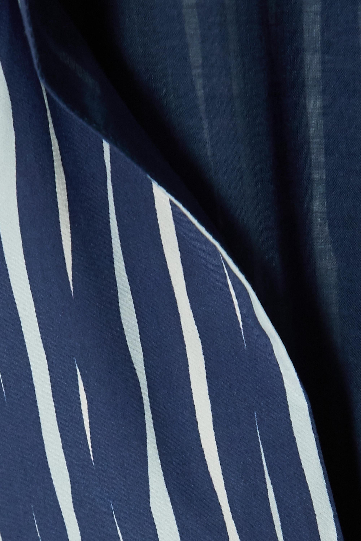 Altuzarra Striped cotton-blend poplin dress