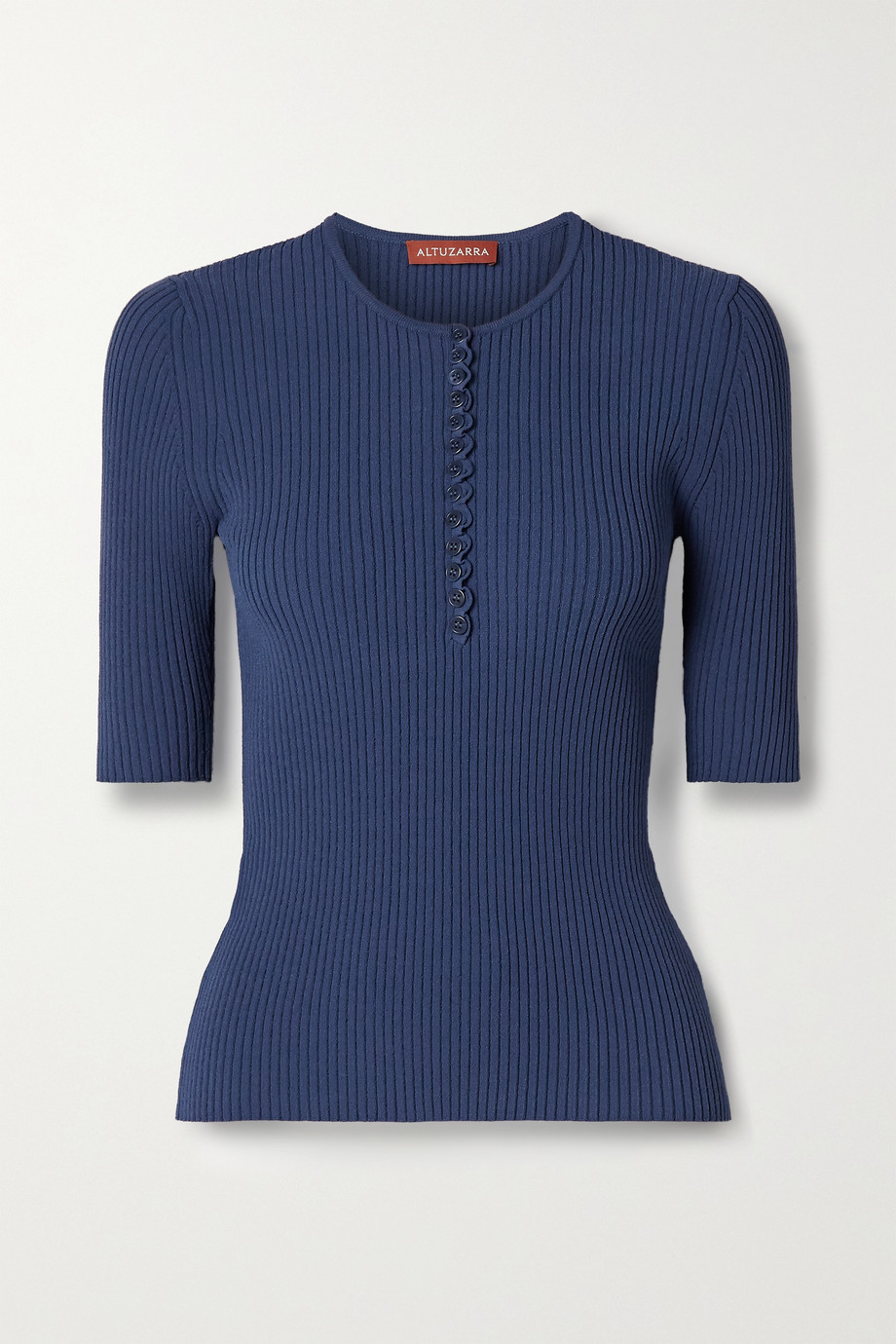 Altuzarra Dory ribbed-knit top