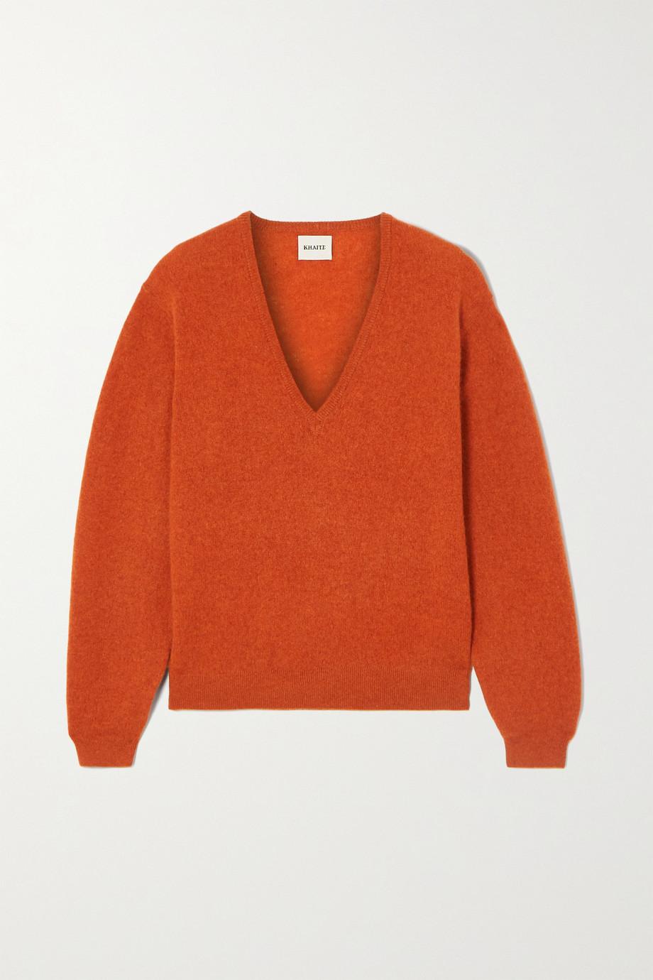 Khaite Cashmere-blend sweater