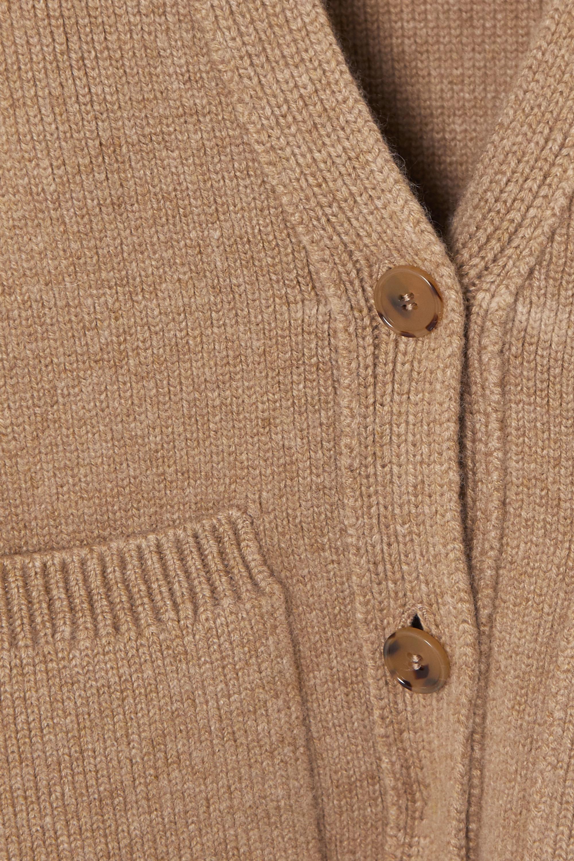 Khaite Scarlet 羊绒混纺开襟衫