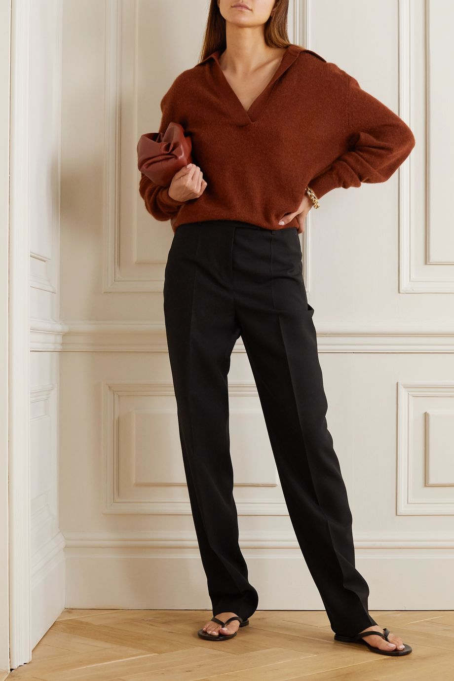 Khaite Jo cashmere-blend sweater