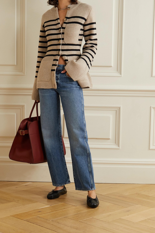 Khaite Kerrie mid-rise straight-leg jeans