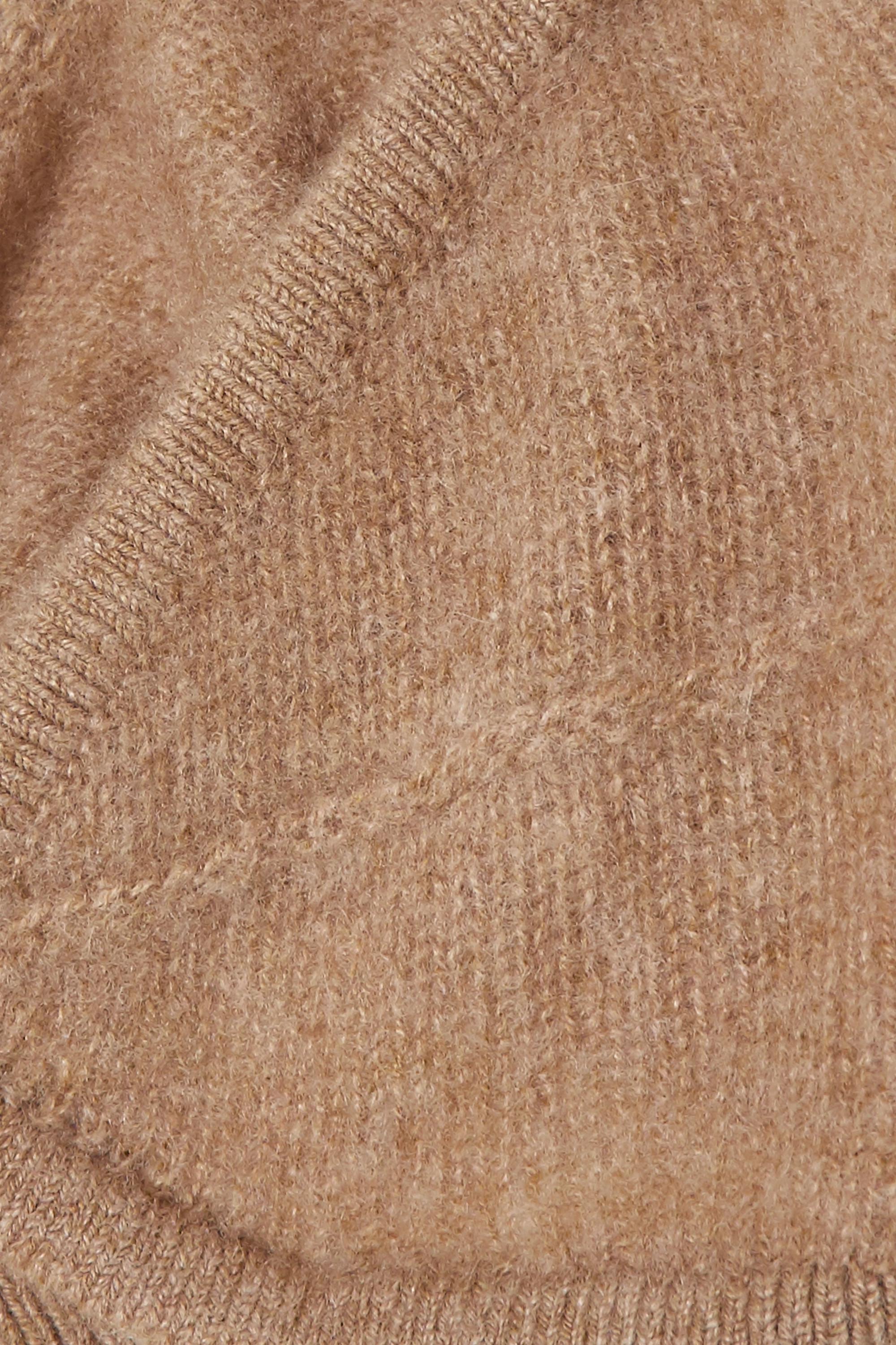 Khaite Eda cashmere soft-cup bra