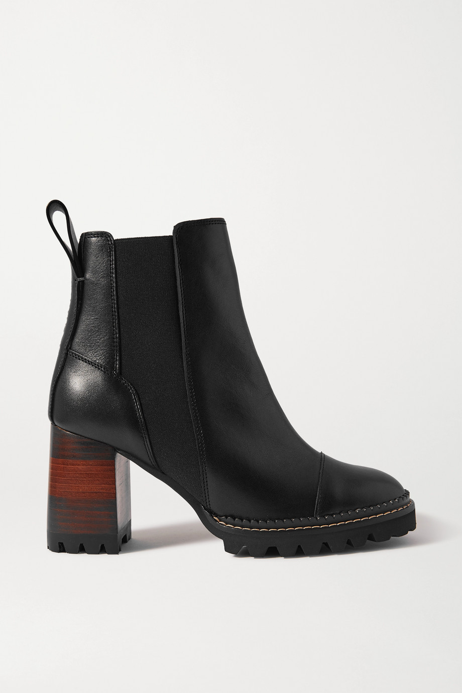 See By Chloé Leather Chelsea boots