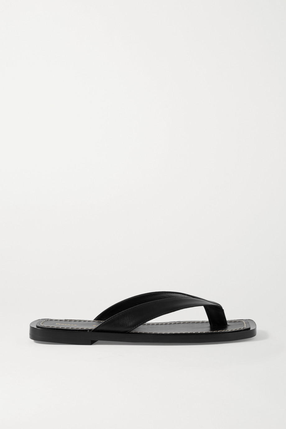 Proenza Schouler Leather flip flops