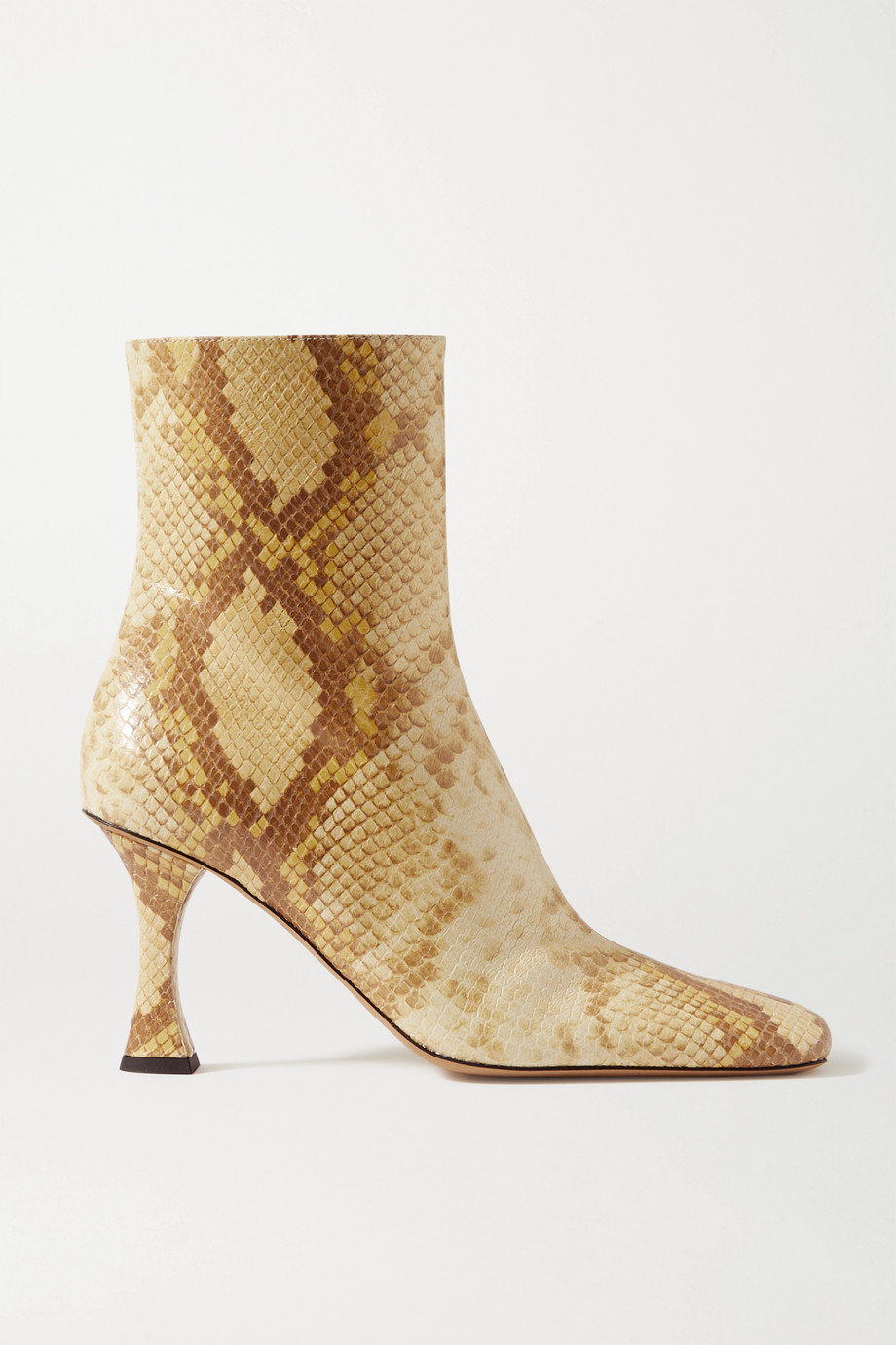 Proenza Schouler Snake-effect leather ankle boots