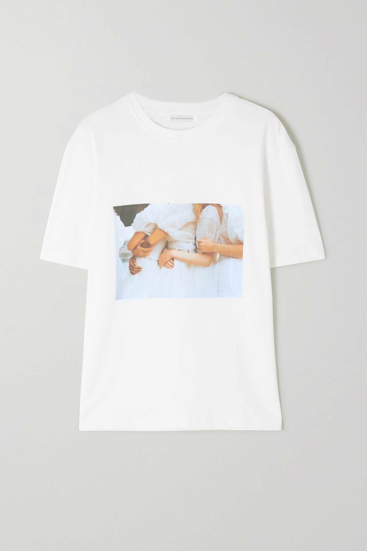 Cecilie Bahnsen International Women's Day printed cotton-jersey T-shirt
