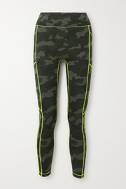 All Access Record Breaker camouflage-print stretch leggings