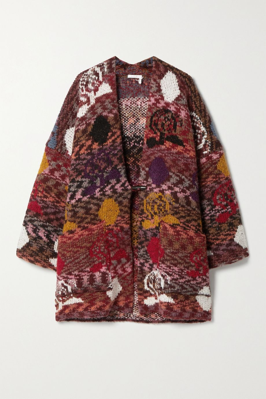 See By Chloé Oversized jacquard-knit cardigan