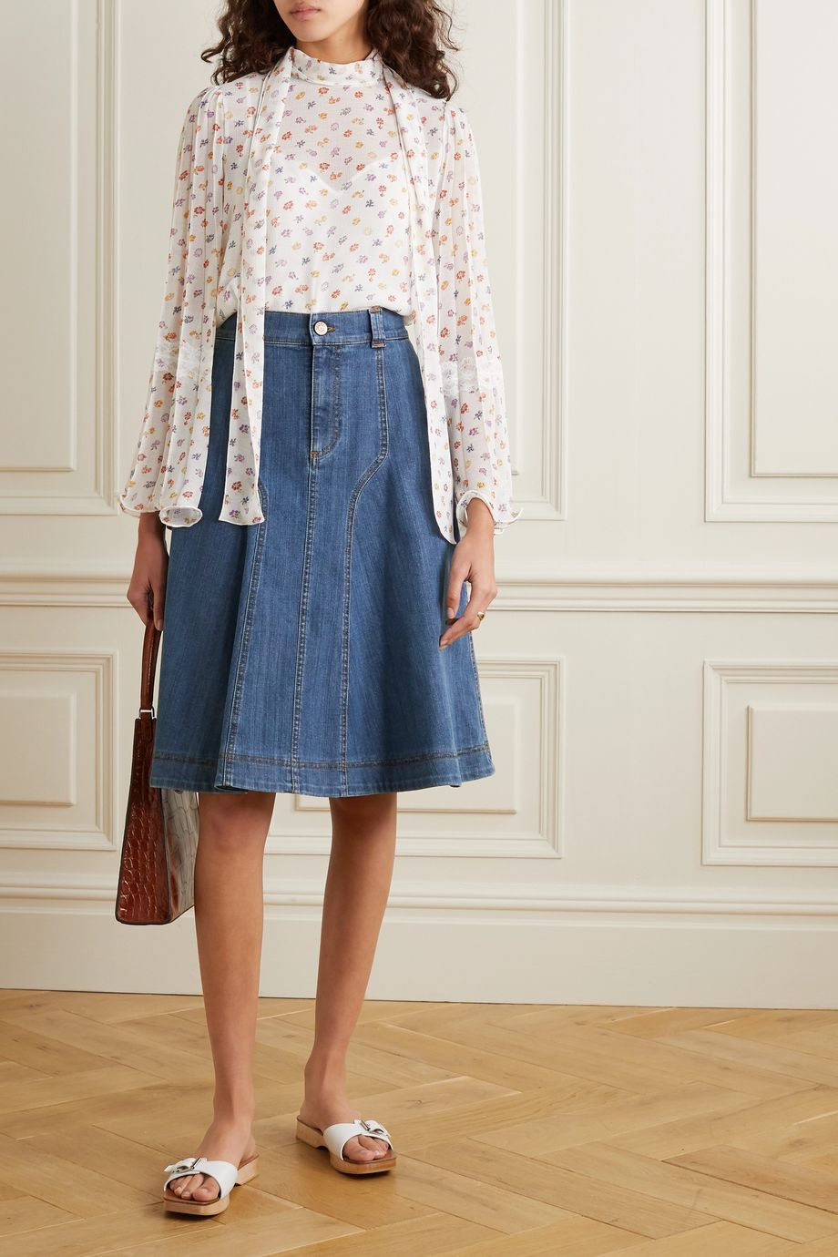 See By Chloé Denim skirt