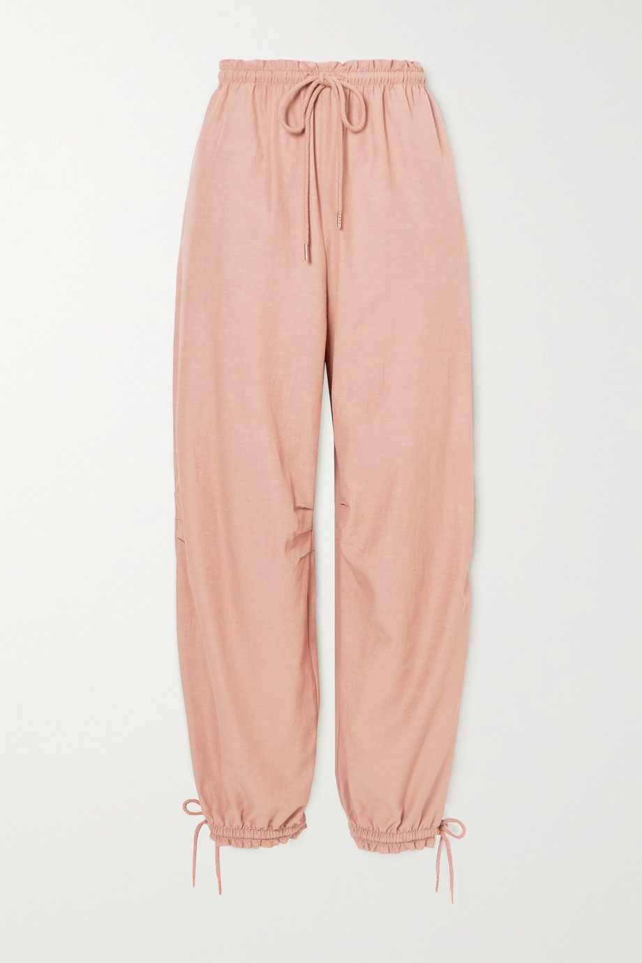 See By Chloé Tie-detailed crepe tapered pants