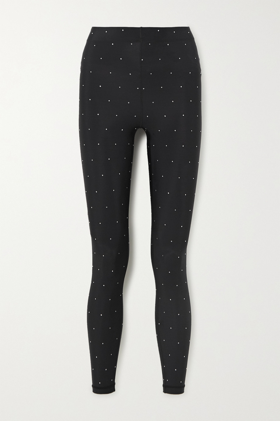 Adam Selman Sport Stretch-Leggings mit Kristallen