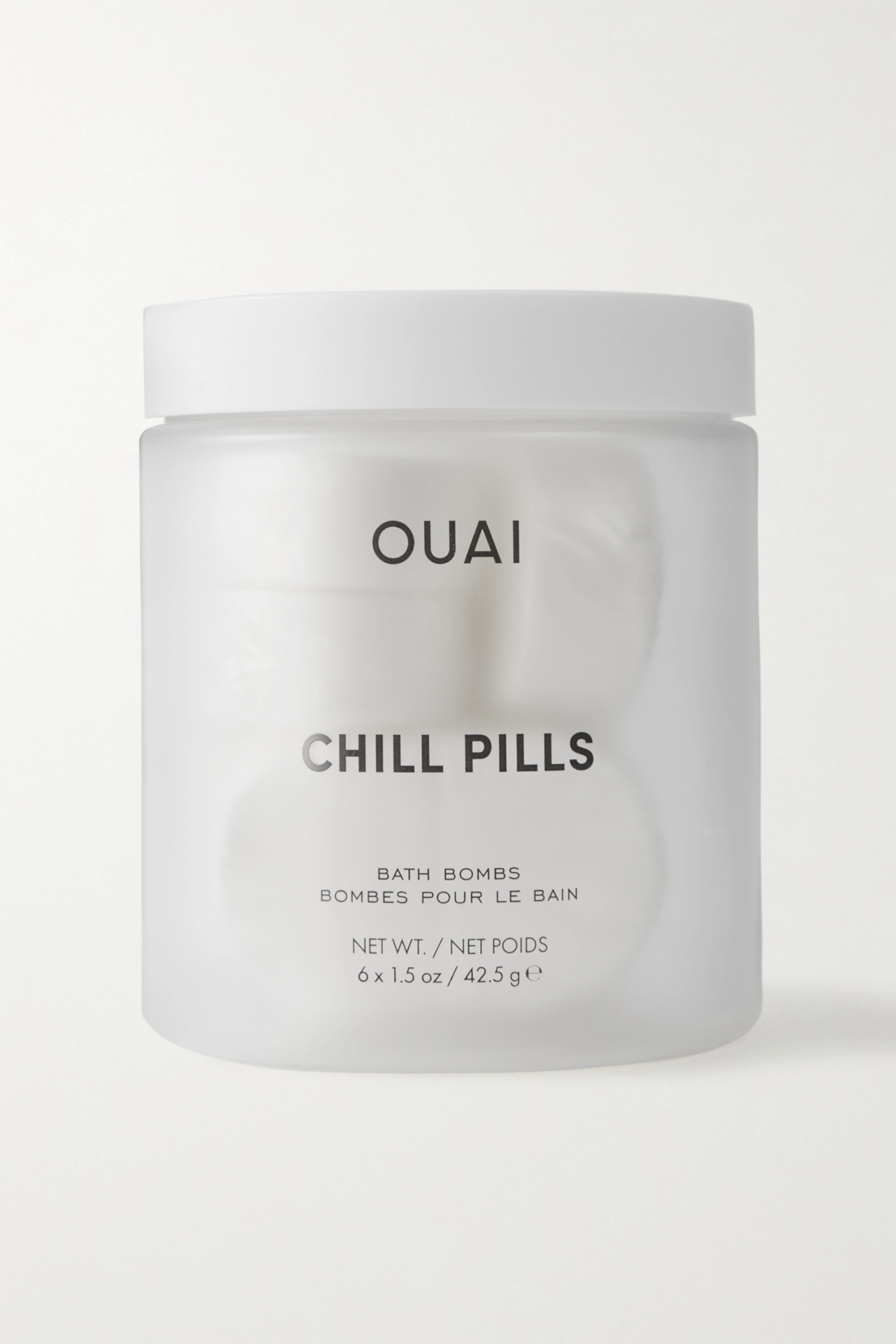 OUAI Haircare Chill Pills Bath Bombs x 6