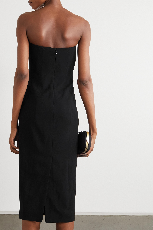 Givenchy Strapless crepe midi dress
