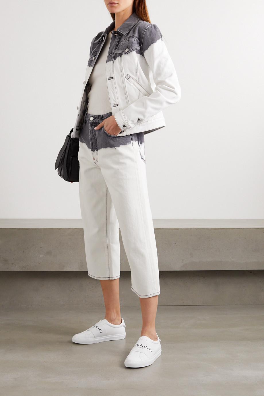 Givenchy 刺绣扎染牛仔夹克