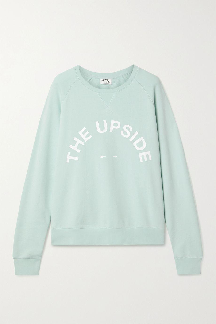 The Upside Bondi printed cotton-jersey sweatshirt