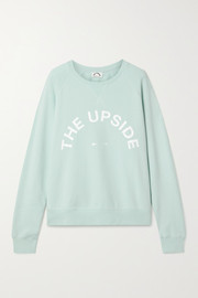 The Upside Bondi printed cotton-jersey sweatshirt